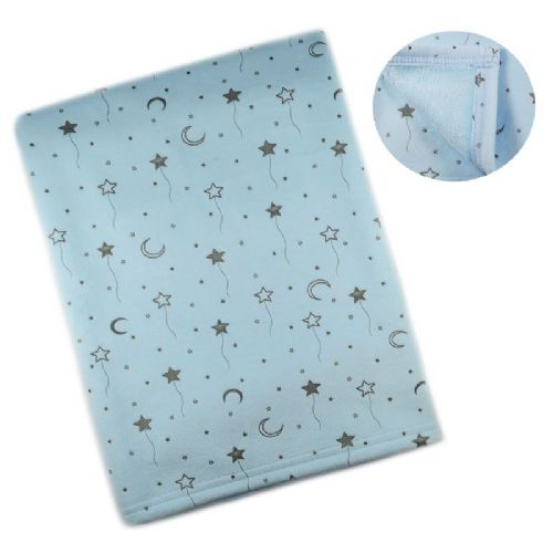 Baby Wrap Moon & Star Print